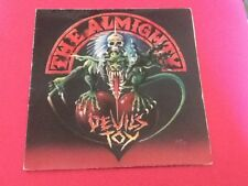 Devil's Toy by The Almighty 7 inch 45RPM single 1991 (Gatefold. Punk. Goth. Rock