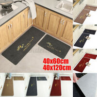 Waterproof Door Mat Anti-slip Kitchen Entrance Floor Rug Bathroom Carpet Doormat