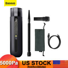 Baseus 5000Pa Powerful Car Vacuum Cleaner Portable Handheld Strong Home Duster