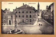 Altkirch Elsaß,schöne Straßen Ansicht 1916