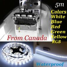 5M Waterproof LED Strip Light 300 LEDs Boat/Truck / Car/ Rv 2835 RGB / Color 12V