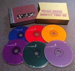 MILES DAVIS QUINTET: COMPLETE COLUMBIA STUDIO RECORDINGS 1965 - '68 - 6-CD SET