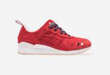 Kith x Moncler x Asics Gel Lyte III 3 Red White Men's Shoes Size 10