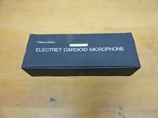 Realistic 33-1080 Electret Cardioid microphone with box and paperwork.