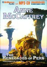 Anne McCAFFREY / RENEGADES of PERN (Dragonriders of Pern)   [ Audiobook ]