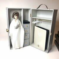 "Franklin Mint ~ Jackie Kennedy ~ 16"" doll Wardrobe Trunk Set (Doll + 5 Outfits)"