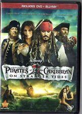 Pirates of the Caribbean: On Stranger Tides (Blu-ray/DVD, 2-Disc Set Slip cover)
