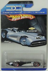 2008 Hot Wheels GM Chevroletor Black Designers Challenge #6 M3318