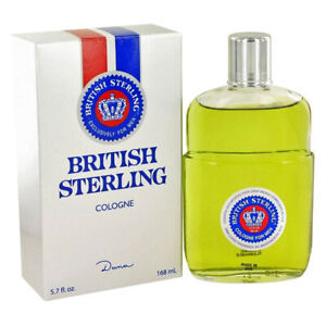 BRITISH STERLING by DANA for MEN * 5.7 oz (168 ml) Cologne Splash NEW & SEALED