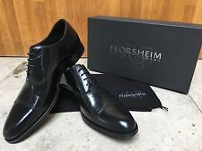 100% Authentic, Florsheim Royal Imperial 5 holde Oxford Black Shoes, Size 8