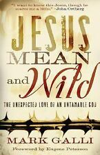 Jesus Mean and Wild : The Unexpected Love of an Untamable God by Mark Galli...