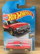 HOT WHEELS 2018 ~ '82 NISSAN SKYLINE R30 Red w/Gold Wheels