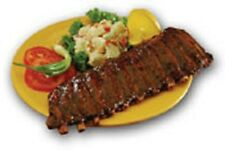 HICKORY SMOKED PORK BABY BACK RIBS WITH BBQ SAUCE 6 RACKS / ORDER