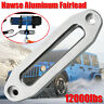 10'' Silver 12000lbs Hawse Aluminum Fairlead For Winch Rope Guide Offroad   n