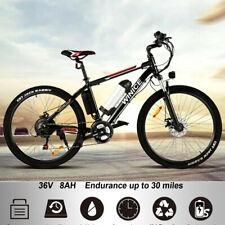 "Electric Bikes Electric Mountain Bike 26"" Ebike City Bicycle 250W Powerful Motor"