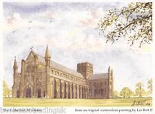 Postcard: Les Bott - The Cathedral, St Albans, Herts (Pilkington Family Trust)