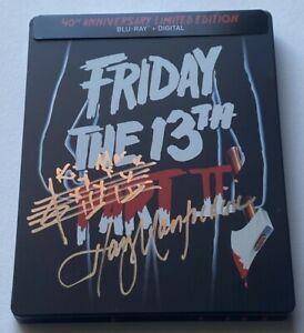 Friday the 13th Part II Signed Harry Manfredini (Blu-Ray Digital Steelbook)