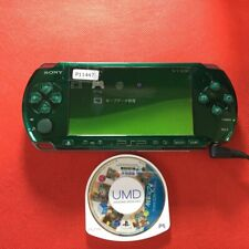 P11447 Sony PSP-3000 console Spirited green Handheld system Japan * w/soft