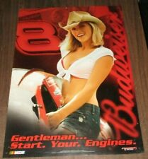 2006 Budweiser Nascar Sexy Blonde Pin up Poster Dale Earnhardt Inc Number 8
