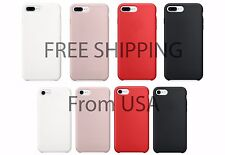 Apple iPhone 7 Case iPhone 7 Plus Case Original Quality Silicone Rubber Cover
