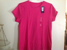 Womens XXL or Tommy Hilfiger Top NWT Deep Pink or Beetroot Pink