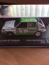 IXO Lancia Delta HF Integrale Caja Cantabria 1992 Diecast Rally Car 1/43 RAC FIA
