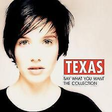 Say What You Want-The Collection von Texas (2012)