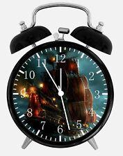 "Pirates of the Caribbean Alarm Desk Clock 3.75"" Home or Office Decor Z13"