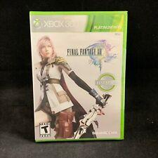 Final Fantasy XIII (13) Platinum Hits (Xbox 360 / Plays On Xbox One) BRAND NEW