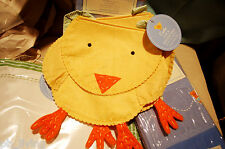 POTTERY BARN KIDS EASTER CHICK GOODIE BAG DINING PARTY CHAIRBACKER CHAIR GIFT