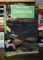 Huber, John FLYFISHER'S GUIDE TO OREGON  1st Edition 2nd Printing