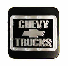 "Chevrolet Silver Bowtie Trailer Hitch Cover - Fits 2"" & 1-1/4"" Receivers"