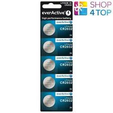 5 EVERACTIVE CR2032 LITHIUM CELL BATTERIES 3V COIN BUTTON DL2032 EXP 2029 NEW