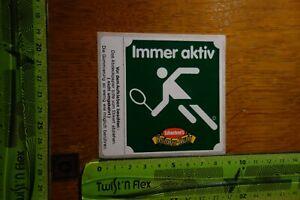 Alter Aufkleber Tennis Piktogramm SCHAEBEN'S Kräuter-KRAIT