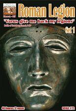 "Linear-A 017 Roman Legion Set 1. ""Varus Give me back my Legions"" 1/72 scale."