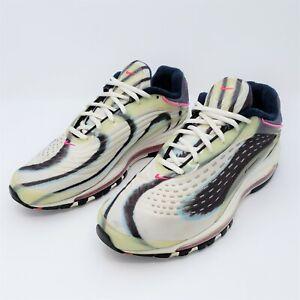 Nike Air Max Mens Enamel Green Black Pink Athletic Shoes Size 9.5 AJ7831-301