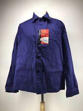 Ancienne Veste de bleu de travail LA FILEUSE ,ignifugé,usine paysan déguisement