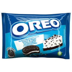 Oreo Crumbs (With Vanilla Filling) 400g - Small Crushed Cookie Pieces