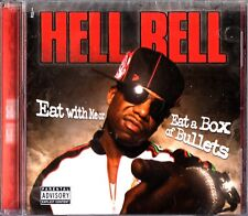 HELL RELL- Eat With Me Or A Box Of Bullets CD (2007 THUG Rap THE DIPLOMATS) NEW