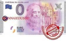 Billet Touristique 0 Euro 2015 - Chateau du Clos Lucé