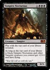 VAMPIRE NOCTURNUS M13 Magic 2013 MTG Black Creature—Vampire MYTHIC RARE