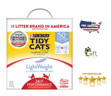 Purina Tidy Cats LightWeight 24/7 Performance for Multiple Cats Clumping Cat Lit