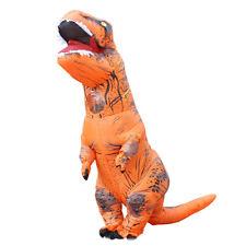 Hot TRex Inflatable Dragon Costume Orange Halloween Dinosaur Costumes Blow Up