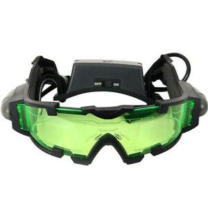 Children Night Vision Goggles Glasses Security Eyeshield Adjustable Elastic Band