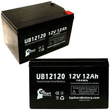 2x 12V 12Ah Sealed Lead Acid Battery For Mongoose CB24V450 UB12120