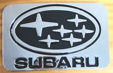 "Subaru Car belt buckle. 3 ""-2"" for 1 1/2"" belt."