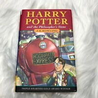 Harry Potter and the Philosopher's Stone by J. K. Rowling 2000 Hardcover