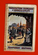 CR63-CATALOGUE-MANUFACTURE-ARMES ET CYCLES-ÉQUIPEMENT MILITAIRE-St ÉTIENNE-1908