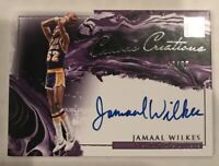 2019-20 Impeccable Jamaal Wilkes Canvas Creations Auto Autograph #40/99 SL