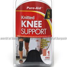 Sports LG/XL KNEE SUPPORT Legs Strap Band Stretch Wrap Athletic Pads Brace S023